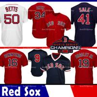 ingrosso baseball 15-Boston Jersey Red Coolbase Sox Jackie Bradley Jr. maglia 50 Mookie Betts 15 Dustin Pedroia 16 Andrew Benintendi