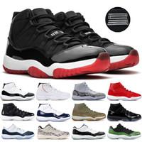ingrosso scarpe atletiche alte-Jordan Jumpman Concord High 45 11 Uomo 11s Scarpe da pallacanestro Platinum Tint Cap e abito Space Jam Designer Sneakers per uomo Sport atletici
