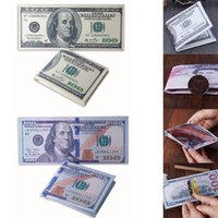 portefeuille imprimé en dollars achat en gros de-Nouveau Canvas Titulaire De La Carte De Crédit Imprimé US Dollar Euro Portefeuille Bifold Nouveau Vieux Dollar US Portefeuille