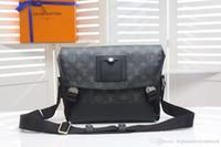 sacs à bandoulière livraison gratuite achat en gros de-2019 meilleure lettre brune en cuir véritable femmes message sac à main pochette Metis sacs à bandoulière bandoulière Rétro sacs livraison gratuite M40511
