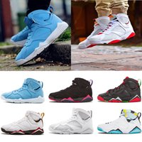 Wholesale n7 basketball shoes resale online - New s mens basketball shoes Women Purple UNC Bordeaux Olympic Panton Pure Money Nothing Raptor N7 Zapatos Trainer Sports Sneakers Shoes