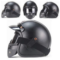 Wholesale face safety mask for sale - Group buy AHP ABS Motobiker Safety Helmet Open Face Helmet Personalized Mens Womens Cool Anti eyepiece Mask G10