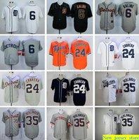 2019 Mens women kids Baseball 6 Al Kaline 23 Kirk Gibson 35 Justin Verlander 24 Cabrera 41 Martinez Jerseys youth white gray black Stitched