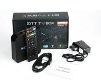 oem tv box großhandel-OEM Großhandel Netzwerk-Set-Top-Box Android 4K 1G 8G TV BOX Chip RK3229 Android7.1 HD Netzwerk-Player Tablet TV Box TV Elektrik Zubehör