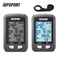 Wholesale gps bike computer resale online - IGPSPORT GPS Computer Waterproof IPX6 Wireless Speedometer Bicycle Digital Stopwatch Cycling Speedometer Bike Sports Computer