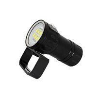 levou mergulho mergulho luzes venda por atacado-2019 Hight Qualidade Top Design Professional LED Lanterna de Mergulho 20000Lumens Dive Light Lamp Equipamento de Mergulho