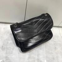 yeni model omuz çantaları toptan satış-Fabrika Toptan 2018 yeni çanta çapraz model sentetik deri kabuk zincir torba Omuz Çantası Fashionista 225