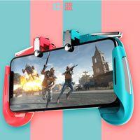 Wholesale force feedback online - AK16 PUBG Game Controller Smart Phone Game Joysticks Precision Shooting Easy Win For Iphone X XS Huawei Xiaomi Samaung Phone