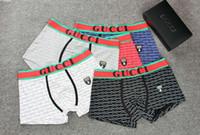 en sıkı erkek iç çamaşırı toptan satış-Marka Erkek Boksörler Nefes Külot Erkek İç Giyim Yeni Tasarımcı Sıkı waistband00