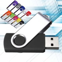 mémoire flash usb 128 achat en gros de-Newtopsell Nouveaux lecteurs flash USB Béquille externe pivotante 128 Go 64 Go 32 Go 16 Go 8 Go Clé de mémoire 4 Go usb Clé USB