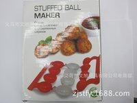 ingrosso polpette-Spot Supplies Polpette di carne di riso Palla di pesce Fare palla di organo Organo per alimenti Polpettine di riso in plastica Modello