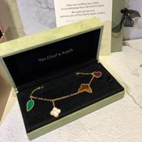 ingrosso braccialetto in edizione limitata-Braccialetto di design in edizione limitata Butterfly Love Clover Bracelet 2019 Accessori di moda di lusso Gem Bracelet Unique Design Retro Avantgarde