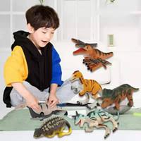 kleinkind neuheit geschenke großhandel-Kinder Neuheit Geschenke Aufwickeln Spielzeug 12+ Verschiedene Dinosaurier Spielzeug für Kleinkinder Dinosaurier Figuren Party Simulierte Dinosaurier Modell Spielzeug