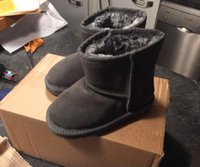 Wholesale boys warm shoes resale online - Top Kid Boys girls children baby warm snow boots Teenage Students Snow Winter boots casual shoes sneakers