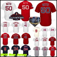 Wholesale dustin pedroia baseball online - Champion Mookie Betts Jersey Boston Red Sox Dustin Pedroia Benintendi Williams J D Martinez Stitched Best Jerseys