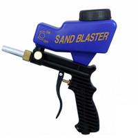 Wholesale pneumatic tools set for sale - Group buy Portable Gravity Sandblasting Gun Pneumatic Set Rust Blasting Device MIini spray gun paint Machine Sand Blaster power tools