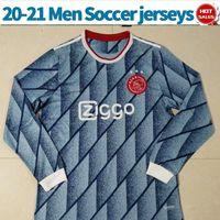 Wholesale soccer jerseys full uniform for sale - Group buy Long Sleeve ajax soccer jerseys away VAN DE BEEK Men soccer shirts PROMES CRUYFF Full sleeve Ajax football uniforms