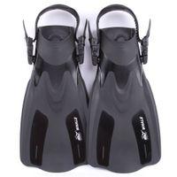 homens, aletas venda por atacado-Sapatos Para Nadar Nadadeiras Homens / mulheres Subaquáticas Caça Flippers Equipamento de Mergulho Submarino Mergulho Pé Monofin Completa Pé Bolso