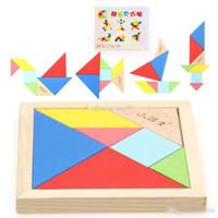 ingrosso bacino del fumetto-Early Learning giocattoli educazione puzzle cervello creativo di puzzle da tavolo blocca il riconoscimento della geometria intelligenza Smart Building puzzle per bambini