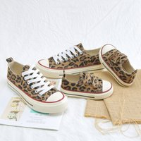 Wholesale 12 children casual shoes resale online - Soft Kids Leopard Print Parent Children Sneakers Casual Boys Baby Toddler Shoes Comfortable Students SneakersMX190917