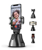 Wholesale photo camera stand for sale - Group buy 360 degree Object Tracking Holder Auto Smart Phone Holder Selfie Shooting Gimbal Stick Photo vlog Camera Live Video Record stand