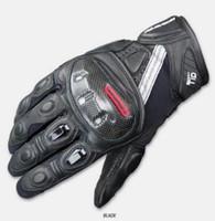 motorrad-rennhandschuhe großhandel-GK-160 Motorrad Carbon Fibre mit Anti-Fall Handschuhen Knight Gloves Kurzschlussrennen
