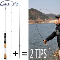 Wholesale l lures for sale - Group buy 2 Tips UL L Spinning Rod m g Lure Weight LB Line Weight Lure Carp Spinning Fishing Rod