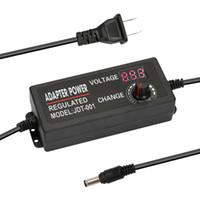 einstellbare schaltnetzteil großhandel-Einstellbares 9-24V 3A Universalnetzteil Netzteil Display Power Switching Multifunktionsschalter High Power