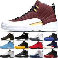 Wholesale red ball boots for sale - Group buy 12 Men Basketball Shoes s Stock Dark Grey Reverse Taxi FIBA Game Ball Mens Trainers Sports Sneaker