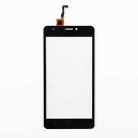 Wholesale mobile phone glass replacement resale online - Original Mobile Phone Front Glass Lens Touchscreen For Oukitel C3 Touch Screen Digitizer Panel With Tape Replacement Touchpad