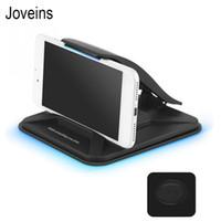 soporte de resorte al por mayor-Joveins Sticky Car Phone Holder Dashboard Desktop Mount Antideslizante Soporte para teléfono móvil para Tablet Gps con resorte de sujeción T190625