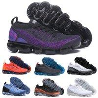 zapatos de senderismo al aire libre al por mayor-De alta calidad de tejer con cordones de los zapatos corrientes de los hombres de las mujeres zapatos de diseñador zapatillas de deporte que acampan al aire libre que van de excursión zapatos atléticos tamaño 36-45 con la caja