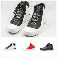 ingrosso y3 formatori-Outdoor BBAL TECH alte scarpe da corsa alta funzione Nero Bianco Rosso Y3 Designer Shoes sport della scarpa da tennis Mans Trainer
