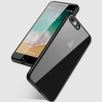 Wholesale ipaky back case for iphone resale online - iPaky Case For iPhone Plus Ultrathin Transparent Back Cover PC TPU Drop proof Hard Soft Cases With Retail Package In Stock