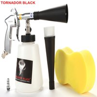 Wholesale car air dry resale online - TORNADOR BLACK Z Air Car Cleaning Gun Pneumatic Car Tool Dry Cleaner Tornador Apparatus With Metal Bearing Turbo Twister