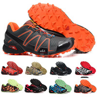 Free Shipping 2020 Arrival Mens Zapatillas Speedcross 4 Sneakers Outdoor Waterproof Cross-country Shoes Athletic Shoes Size 39-48 B7326
