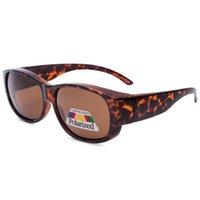 polarisiert über brille sonnenbrille großhandel-Polarisierte Abdeckung über verschreibungspflichtige Sonnenbrillen setzen fit fahren Frauen (entworfen, um über Korrekturbrillen zu tragen)