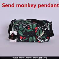 e2d0d02308 100% original 2019 new women's fashion classic handbag monkey Kipple  shoulder nylon bag female models Kipleds fashion bag969