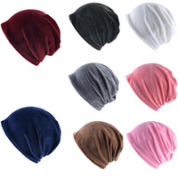 Wholesale earmuffs for men for sale - Group buy 2020 Women s Hat Plush Knitted Earmuffs Cap Hats Winter Hat for Women Warm Knitted Hats Brand New Thick Womens Caps