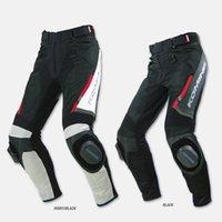 calças de corrida de komine venda por atacado-Promoções Komine pk-717 verão / outono moto cross country calças de corrida de couro Nenhum bloco de moagem.