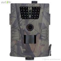caméra gprs à distance achat en gros de-Caméra 940nm HT-001 Caméra sauvage GPRS IP54 Jeu de vision nocturne Caméra LCD à distance IP54 Étanche pour chasser les pièges à photos