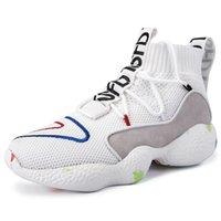 erkekler için en sıcak ayakkabılar toptan satış-VMUKSAN Marka Yeni Erkek Sneakers Erkekler Için Yüksek Üst Ayakkabı Esneklik Sıcak Kış Yürüyüş Rahat Ayakkabılar Klasik Dantel-Up Erkek