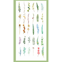 Wholesale paper book bookmarks for sale - Group buy 30 set New Arrival Grass Leaf Paper Bookmarks For Book Stationery Office Accessories School Supplies