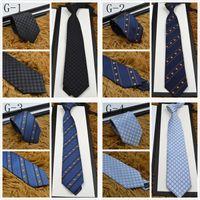 toallas rojas de lunares al por mayor-Marca de alta calidad Corbata de diseño 100% corbata de seda con caja de empaque 7.5 cm corbatas clásicas edición de la marca de los hombres casual tieith estrecha nave rápida jm95a