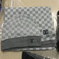 Wholesale blue scarves resale online - Brand Scarves Sets Mens Designer Scarf fashion Brand Scarf Plaid Design Mens wool Cashmere Scarves Size x32cm
