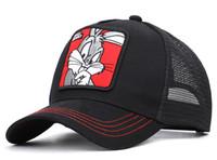 hysteresen acryl buchstaben großhandel-4 Farben Entenkugelkappen Baseball Caps Verstellbare Strapback-Hüte Snapback-Sport Casquette Visier Gorras Cap