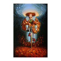 Wholesale Michael Cheval On the Wings of Fall Oil Painting HD Print On Portrait Canvas Home Modern Decoration Wall Art Framed Unframed