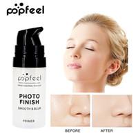 fazendo óleos corporais venda por atacado-Popfeel Maquiagem Profissional Primer Rosto Que Compõe a Fundação Base de Longa Duração Controle de Óleo Hidratante Melhor Rosto Eye Lip Body Loção de Maquiagem