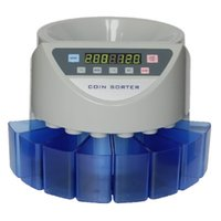 Wholesale value electronics resale online - Electronic coin sorter coin counter counting machine custom made for countries display the total value and quantity