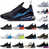 tn entrenadores negros al por mayor-nike air max 270 Regency Purple Hombres mujeres Triple negro blanco presto Tiger Training Designer TN Plus Zapatos al aire libre Zapatillas deportivas Zapatos Zapatillas de deporte